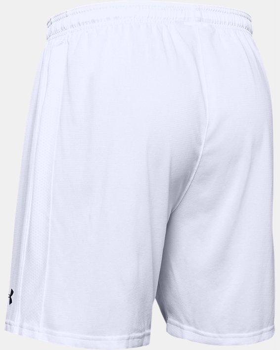 Men's UA Microthread Match Shorts, White, pdpMainDesktop image number 7