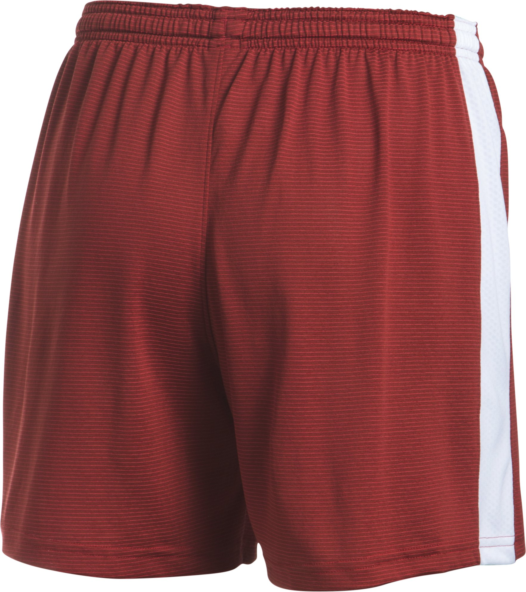 Women's UA Threadborne™ Match Shorts, Red