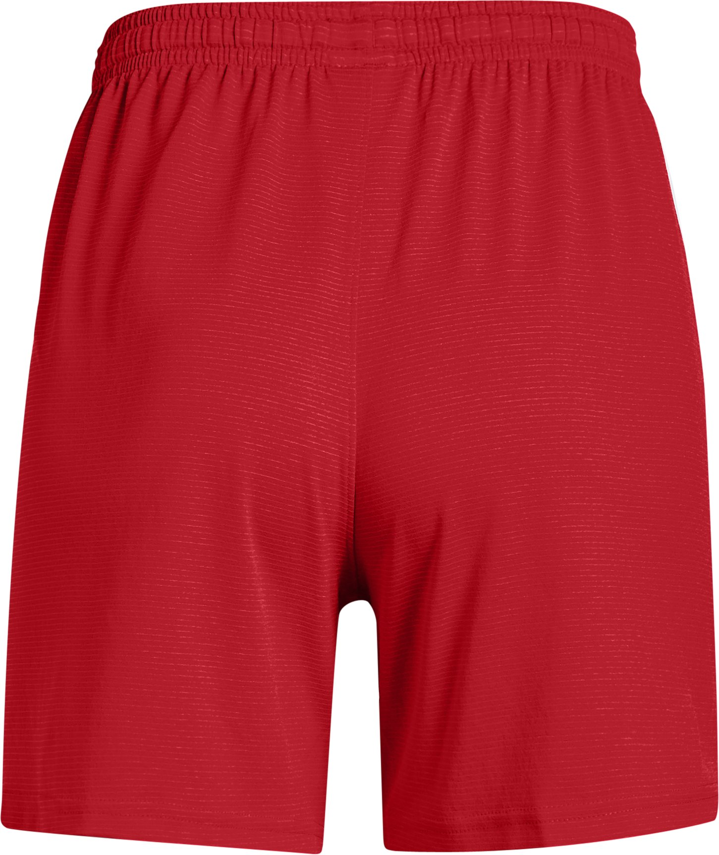 Women's UA Microthread Match Shorts, Red,