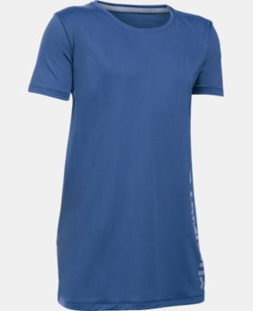Girls' UA Armour® Short Sleeve  1 Color $19.99