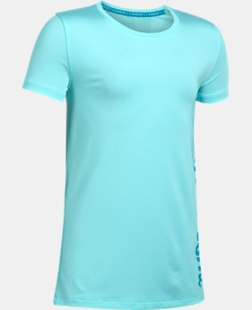Girls' UA Armour® Short Sleeve  1 Color $22.99