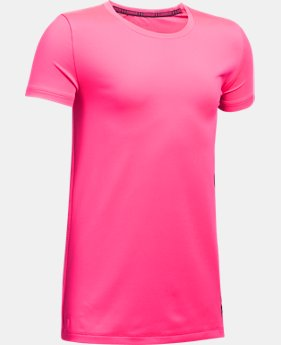Girls' UA Armour® Short Sleeve  3 Colors $22.99