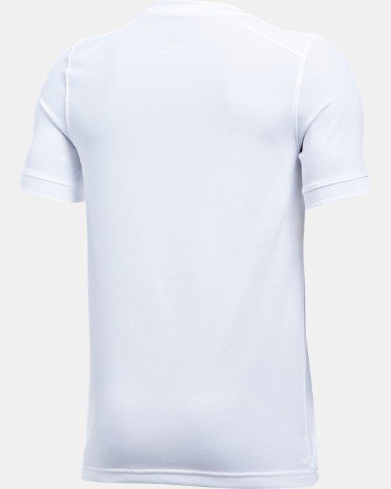 Kids' UA Threadborne Match Jersey, White, pdpMainDesktop image number 3
