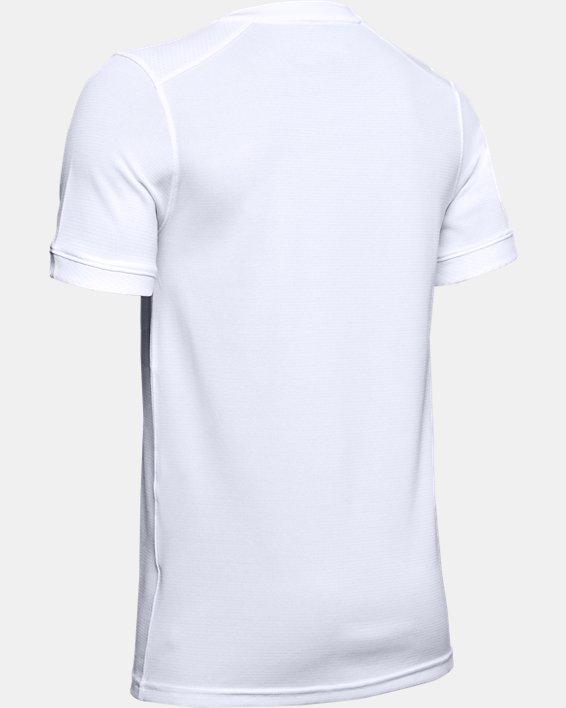 Kids' UA Threadborne Match Jersey, White, pdpMainDesktop image number 2