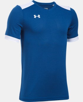 New Arrival Kids' UA Threadborne Match Jersey   $34.99
