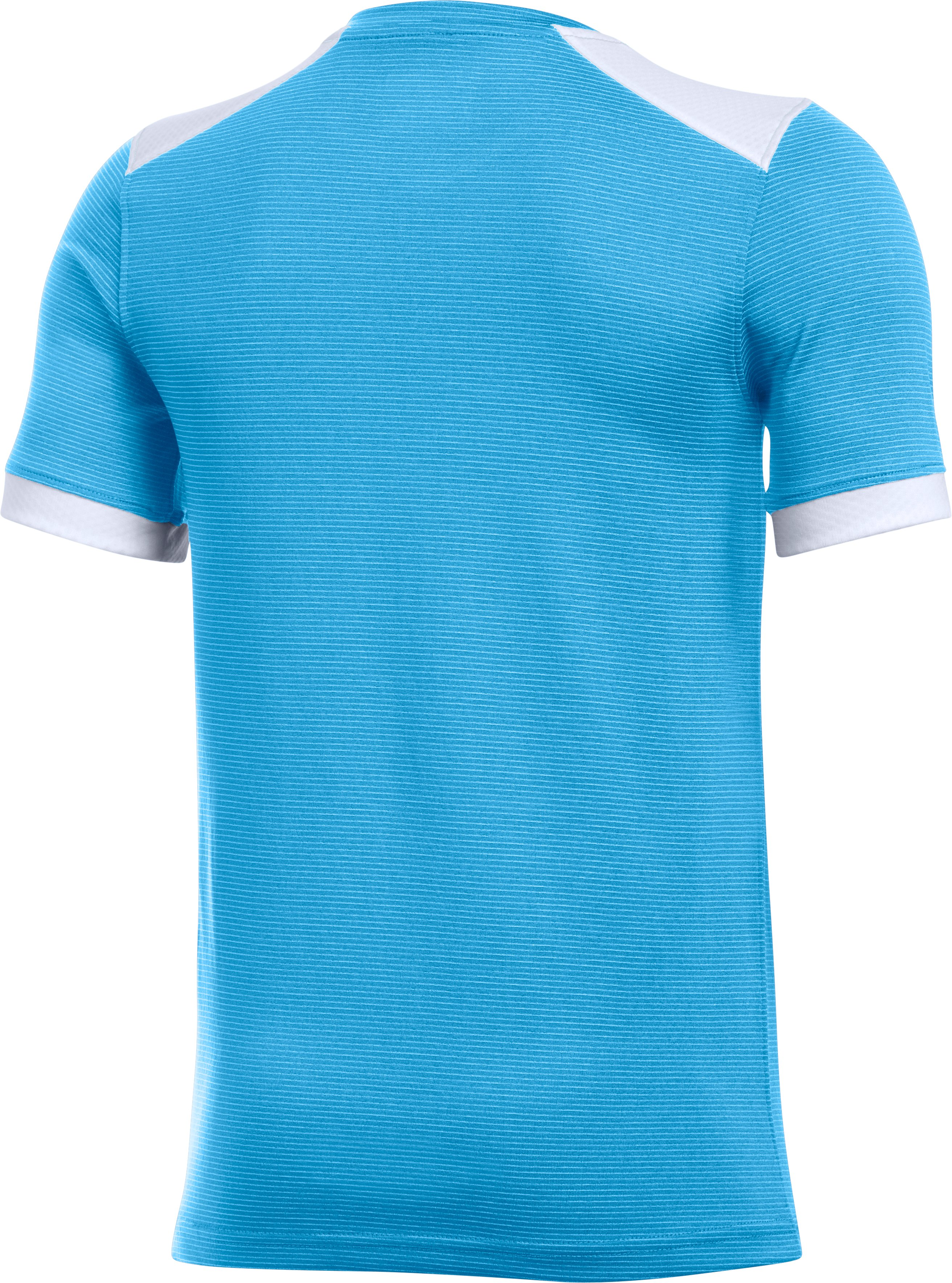 Kids' UA Threadborne Match Jersey, Carolina Blue, undefined
