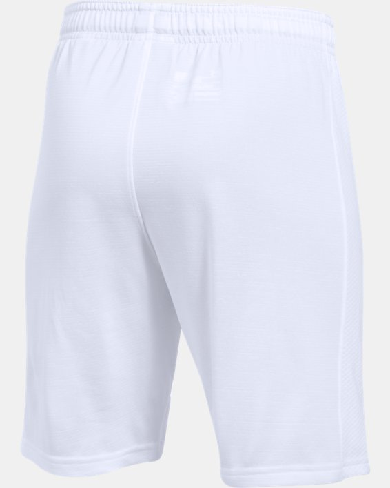 Boys' UA Threadborne Match Shorts, White, pdpMainDesktop image number 3