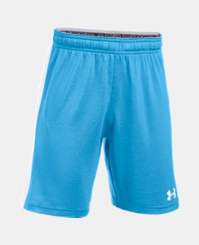2aedcd5aaabd3 Boys  UA Threadborne Match Shorts 9 Colors Available  24.99