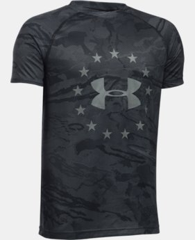 Boys' UA Freedom Reaper Tech™ T-Shirt  1 Color $29.99
