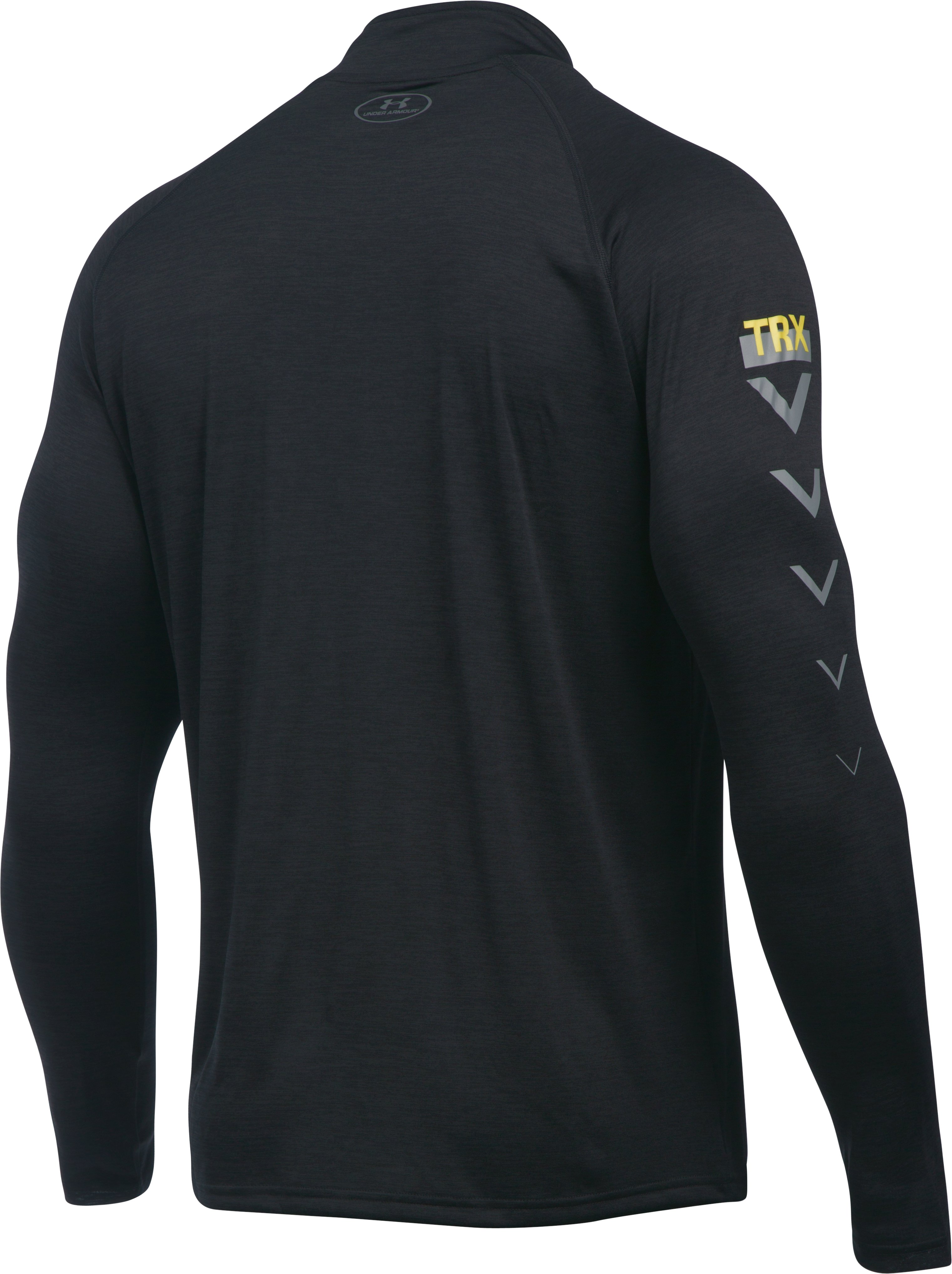 Men's TRX UA Tech™ ¼ Zip, Black , undefined