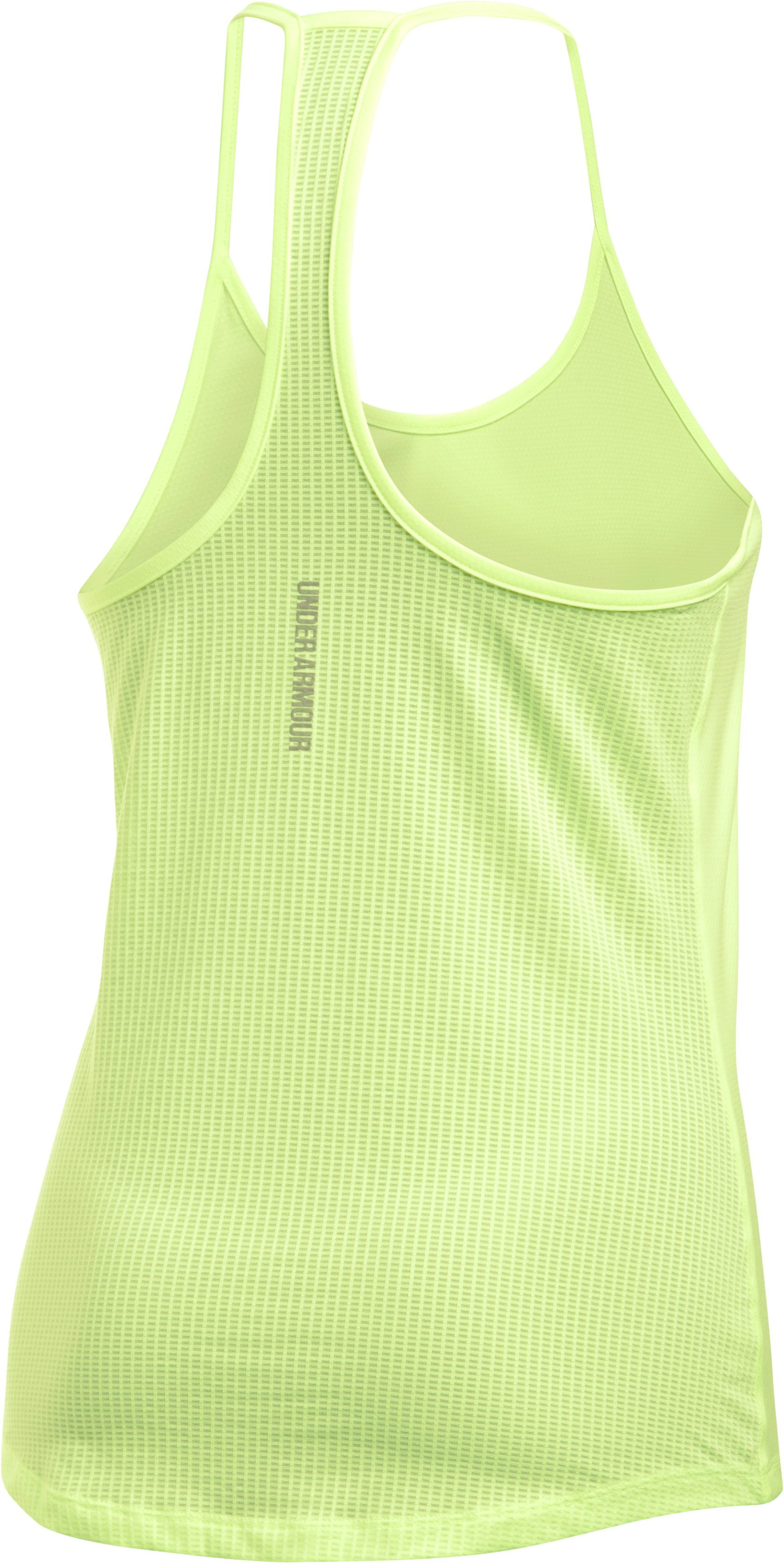 Women's UA Fly-By Racerback Tank, PALE MOONLIGHT,