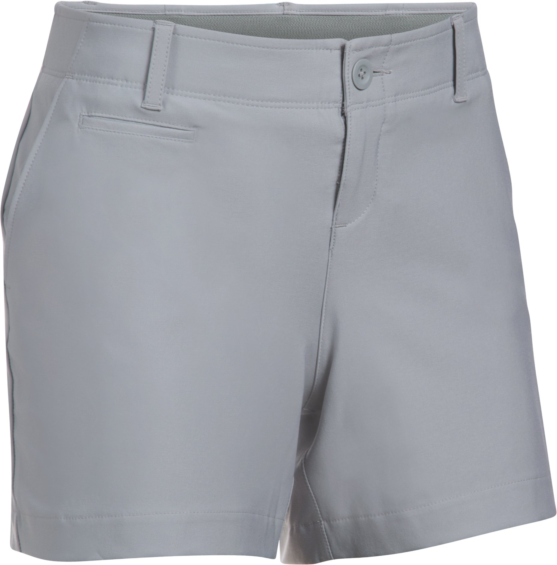 "Women's UA Links 4"" Shorty, OVERCAST GRAY"