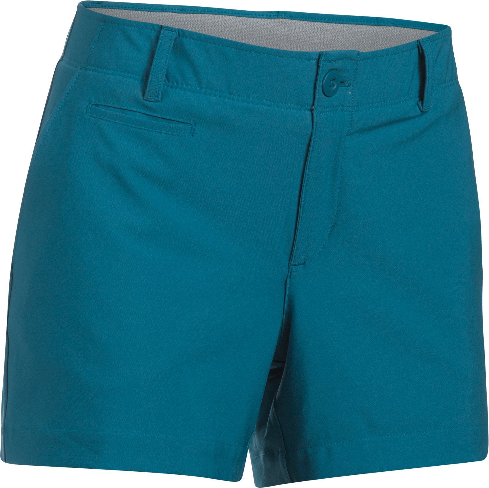 "Women's UA Links 4"" Shorty, BAYOU BLUE, undefined"