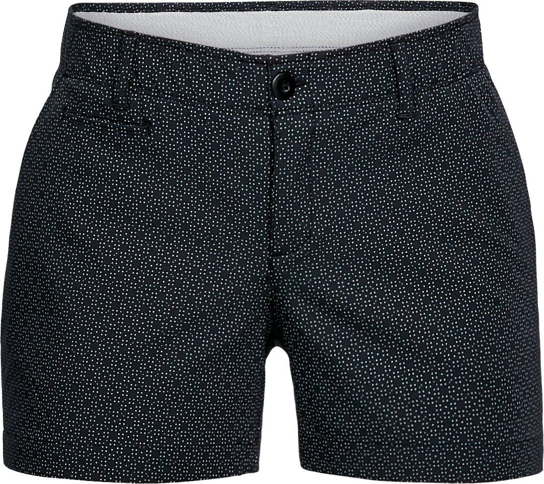 "Women's UA Links Printed 4"" Shorty, Black ,"