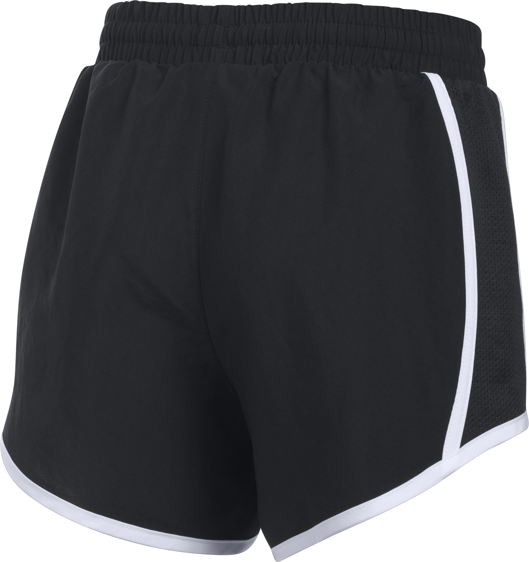 Girls' UA Fly-By Shorts, Black , undefined
