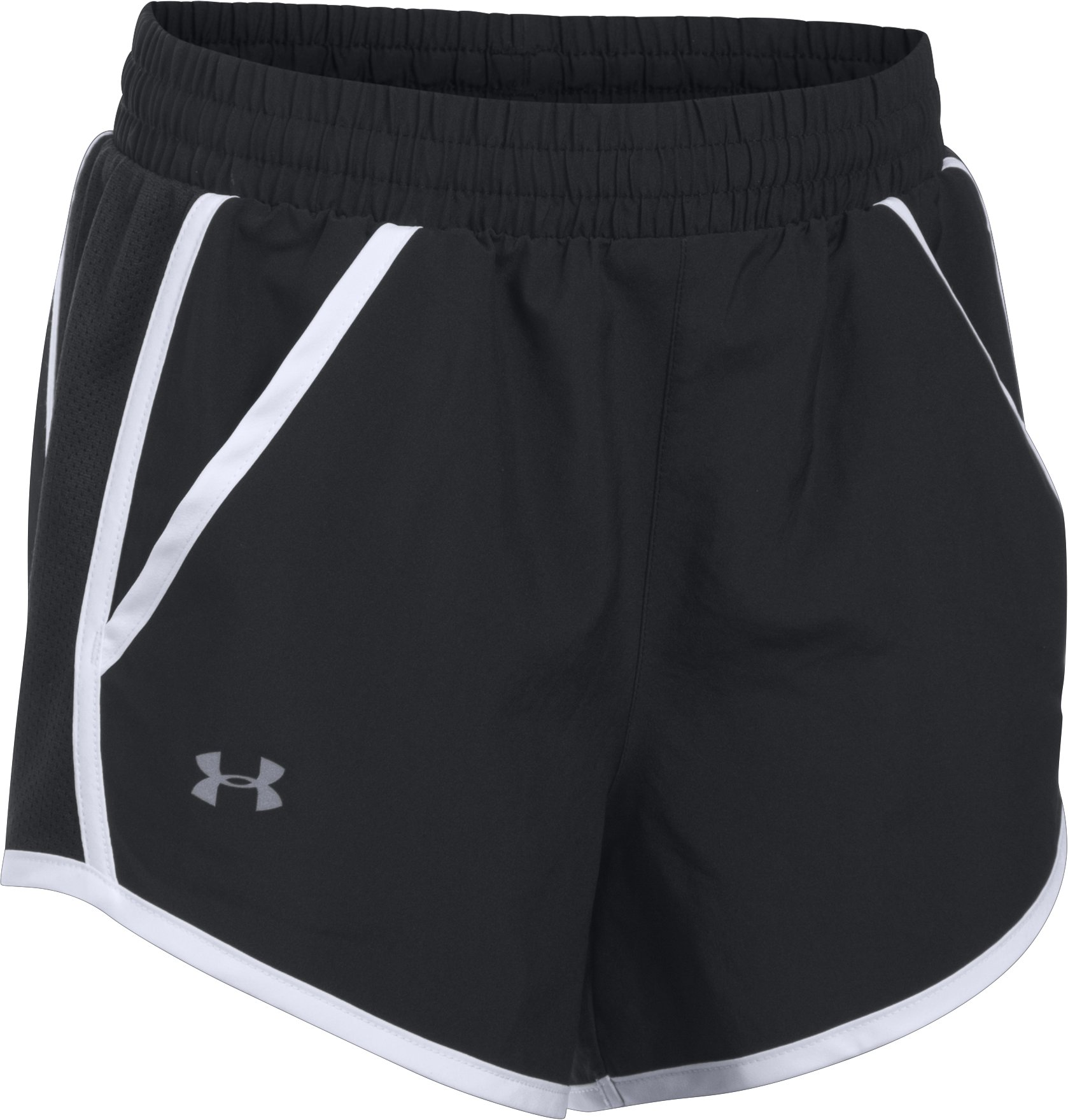 Girls' UA Fly-By Shorts, Black