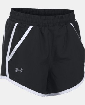 Girls' UA Fly-By Shorts  1 Color $25.99