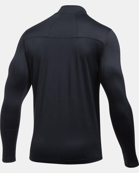 Men's UA Reflex Rival ¼ Zip, Black, pdpMainDesktop image number 7
