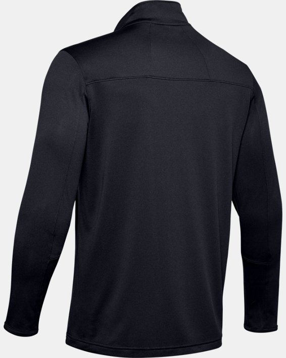 Men's UA Reflex Rival ¼ Zip, Black, pdpMainDesktop image number 6
