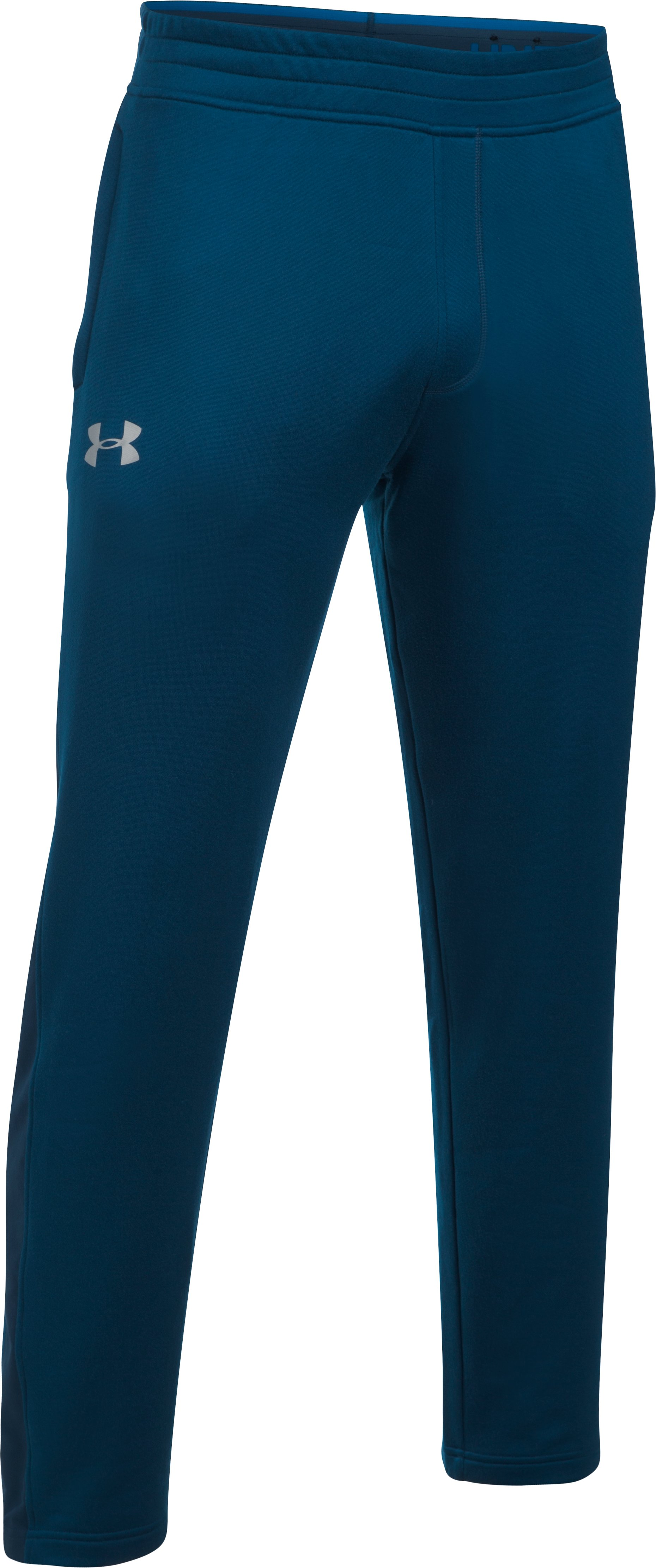 Men's UA Tech™ Terry Pants, BLACKOUT NAVY,