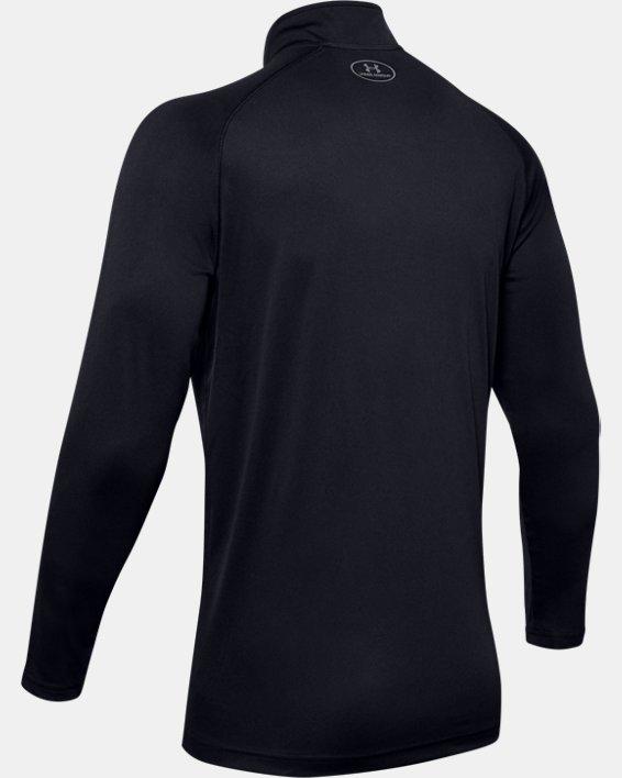 Men's UA Velocity 2.0 ¼ Zip, Black, pdpMainDesktop image number 5