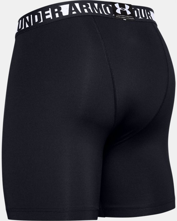Men's HeatGear® Armour Shorts, Black, pdpMainDesktop image number 5