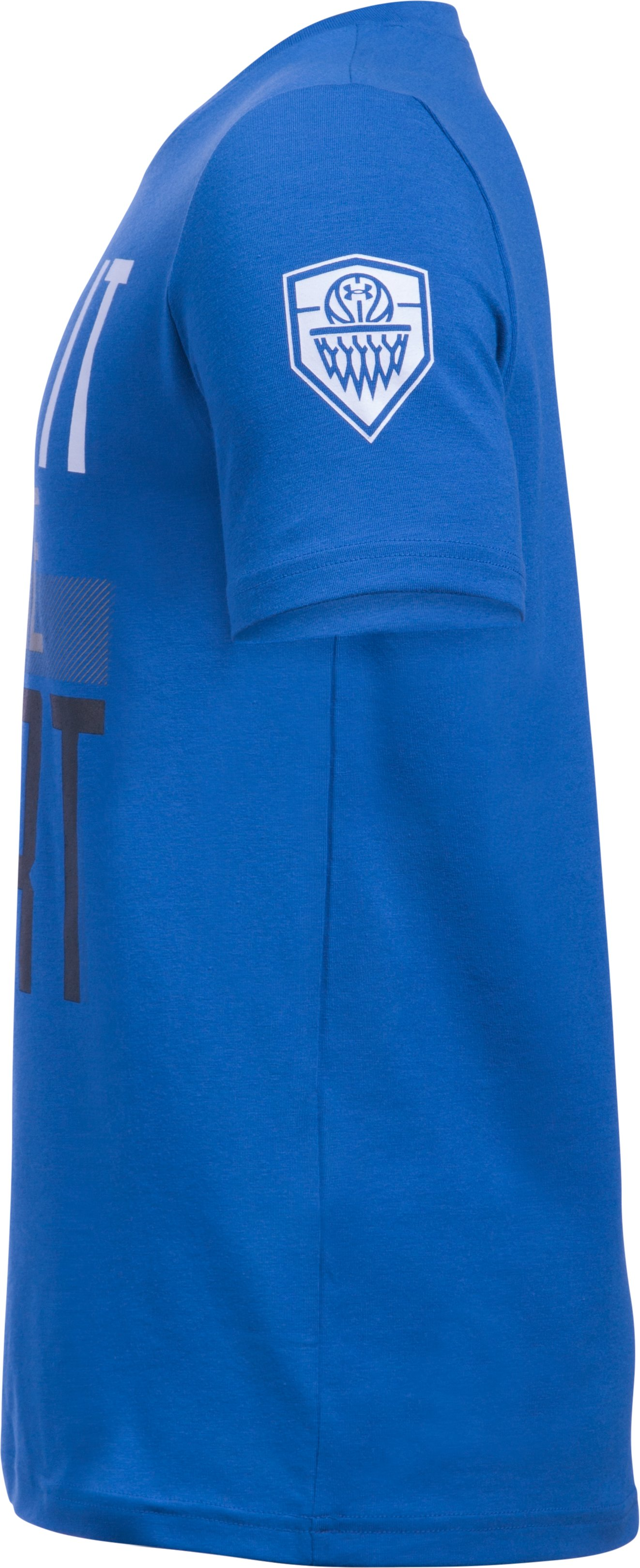Boys' UA Prove It On The Court Short Sleeve T-Shirt, ULTRA BLUE,