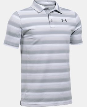 Boys' UA Playoff Stripe Polo  5 Colors $39.99