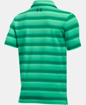 Boys' UA Playoff Stripe Polo  3 Colors $39.99