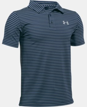 Boys' UA Playoff Stripe Polo  4 Colors $39.99