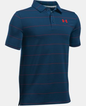 Boys' UA Playoff Stripe Polo  1 Color $27.99 to $29.99