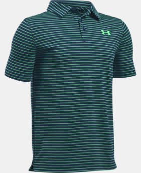 Boys' UA Playoff Stripe Polo  1 Color $44.99