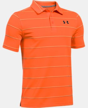 Boys' UA Playoff Stripe Polo  1 Color $29.99 to $39.99