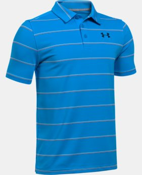 Boys' UA Playoff Stripe Polo  1 Color $39.99