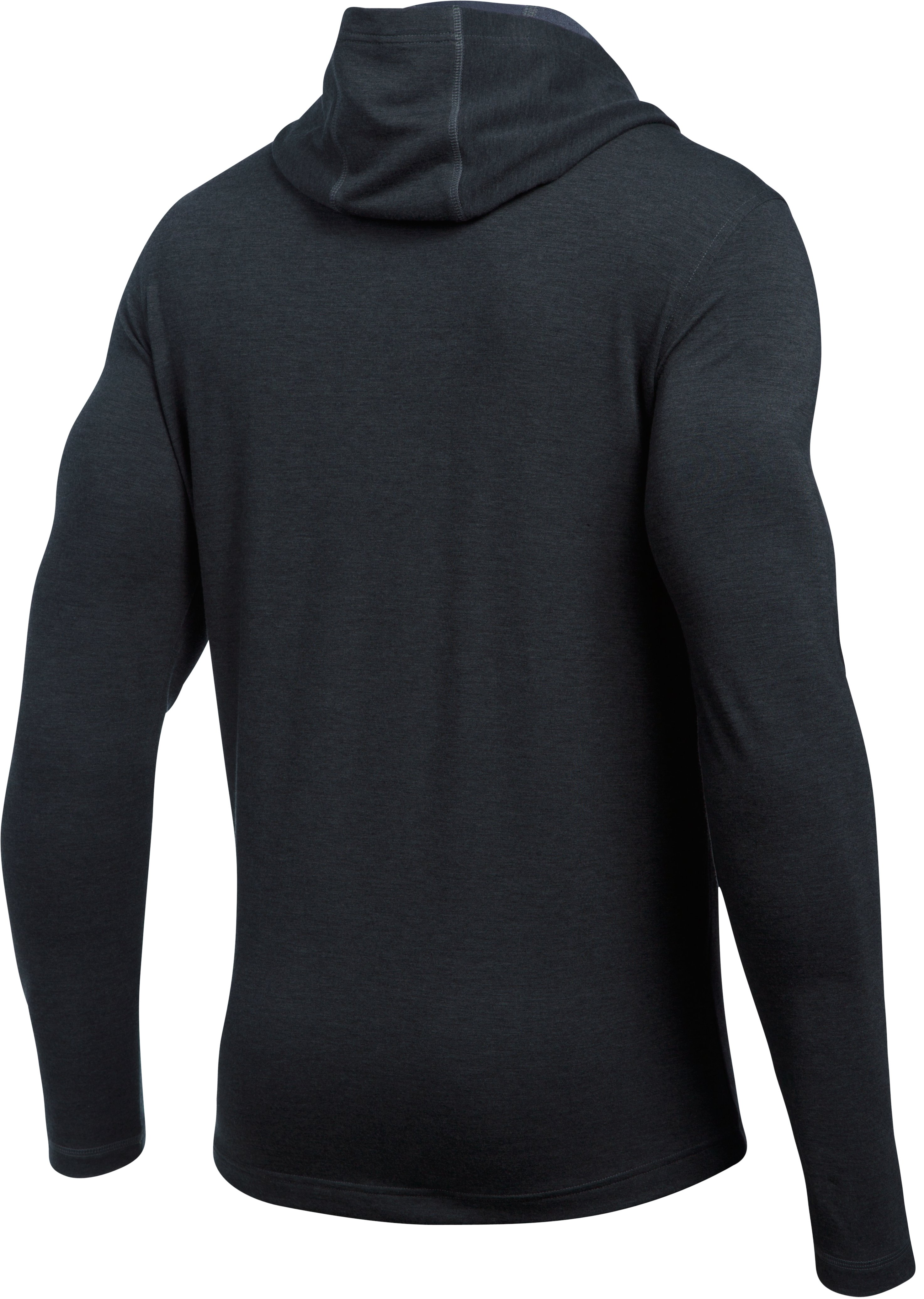 Men's UA Tech™ Terry Hoodie, Black ,