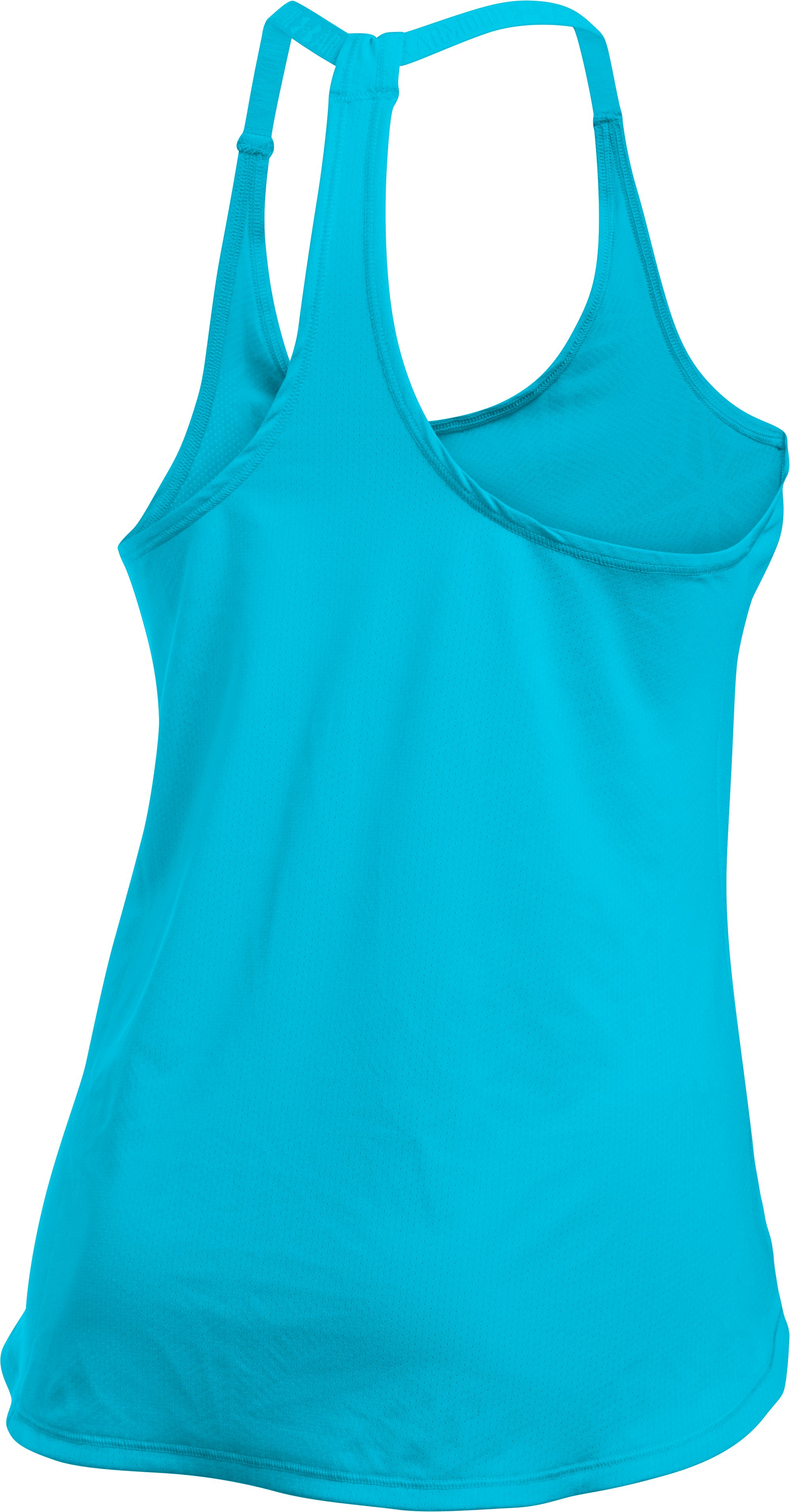 Women's UA HeatGear® Armour CoolSwitch Tank, ISLAND BLUES,