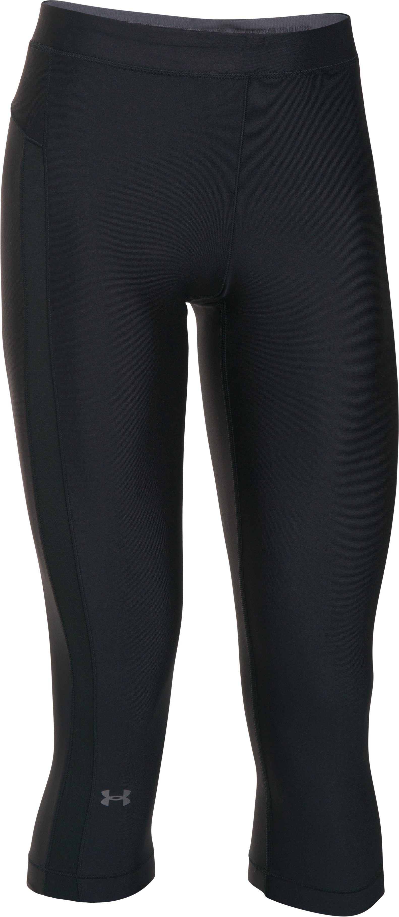 Women's UA CoolSwitch Capris, Black , undefined