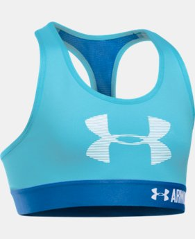 New Arrival Girls' UA HeatGear® Armour Graphic Bra  3 Colors $24.99