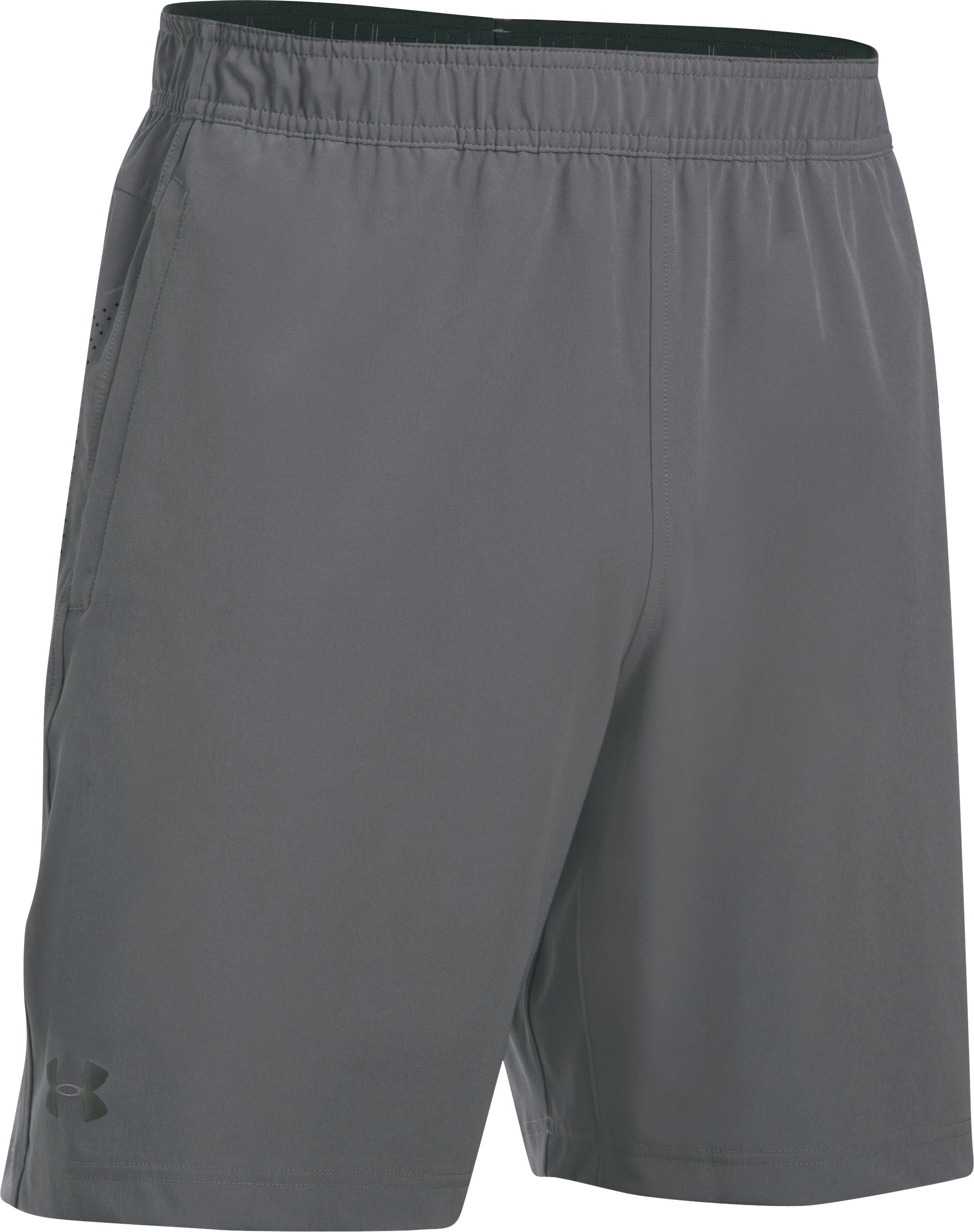 Men's UA Storm Vortex Shorts, Graphite,