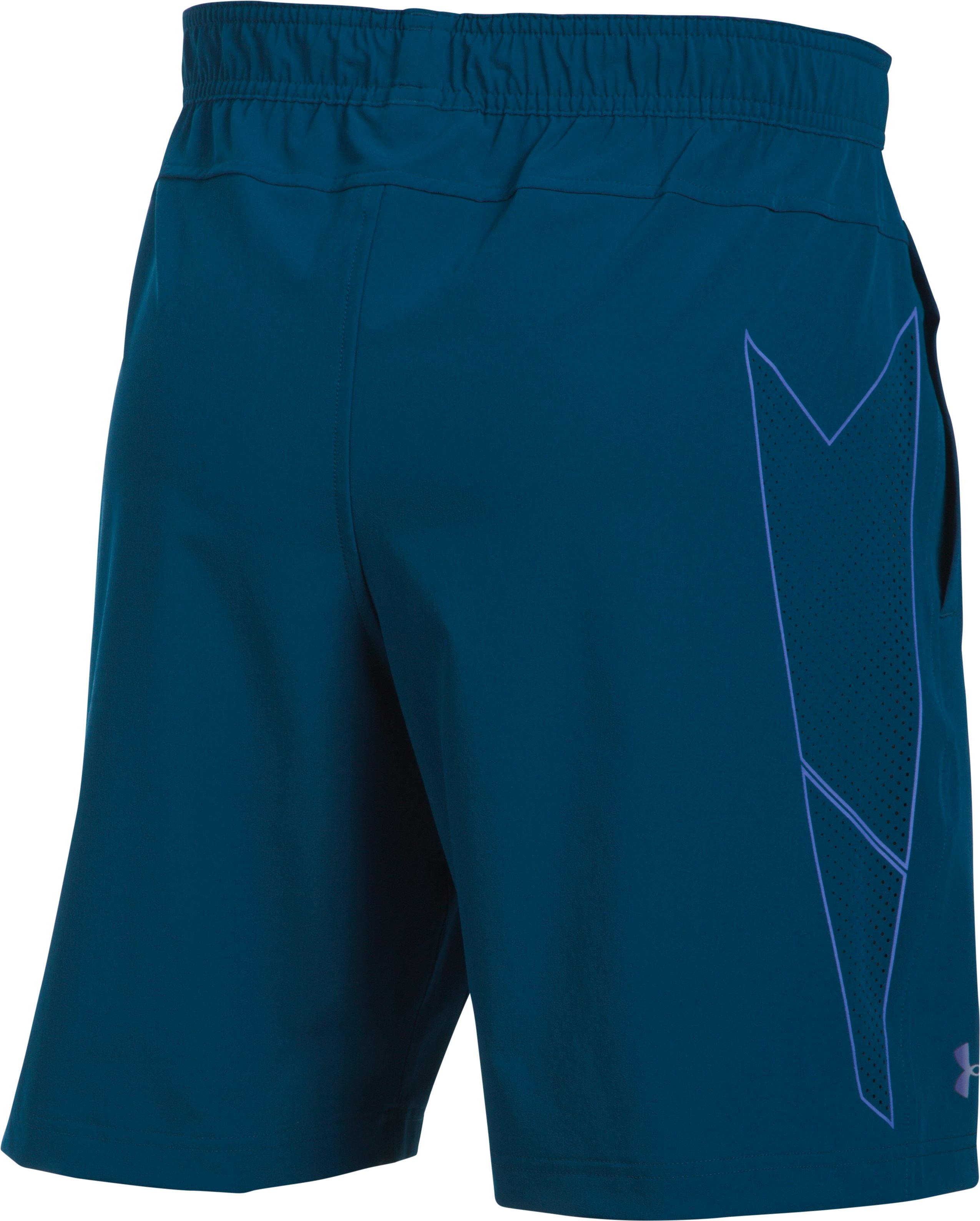 Men's UA Storm Vortex Shorts, BLACKOUT NAVY, undefined