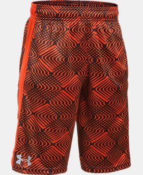 Boys' UA Eliminator Printed Shorts  1 Color $16.99