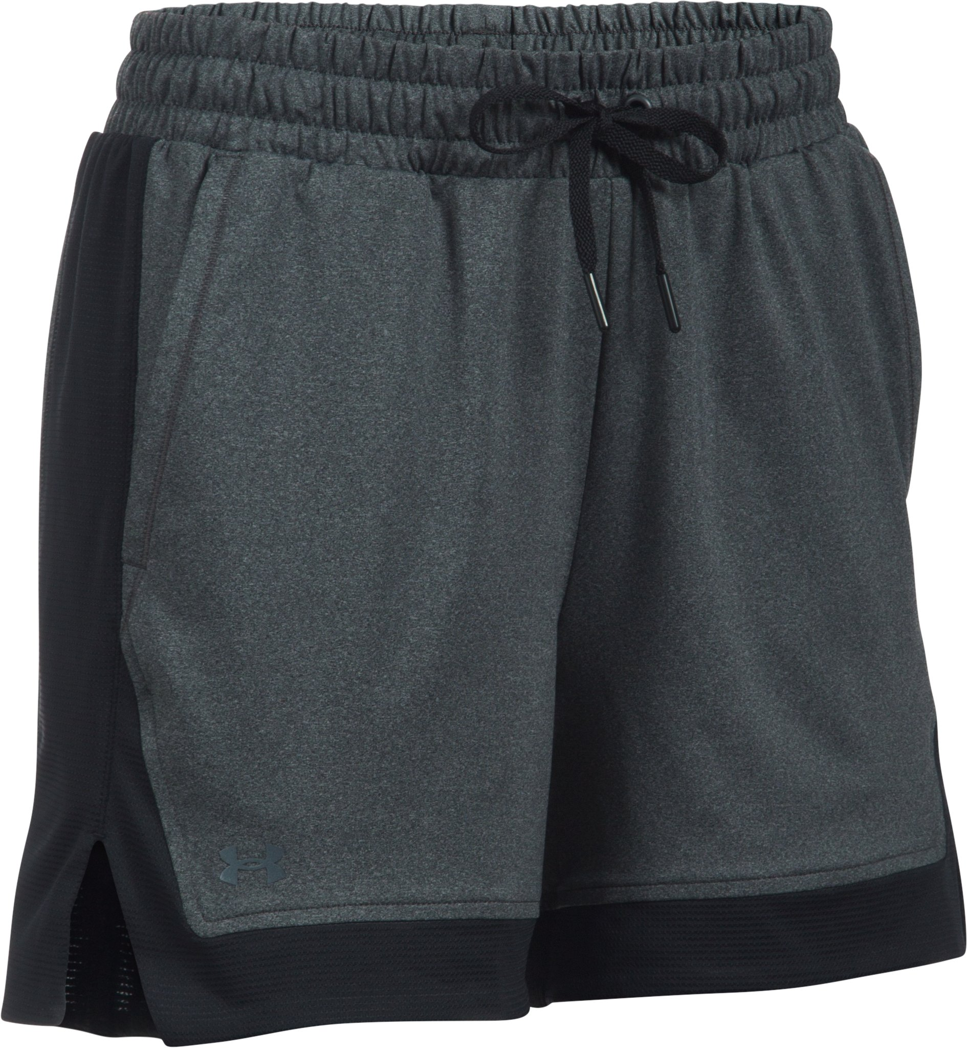 Women's UA Got Game Shorts, Carbon Heather,