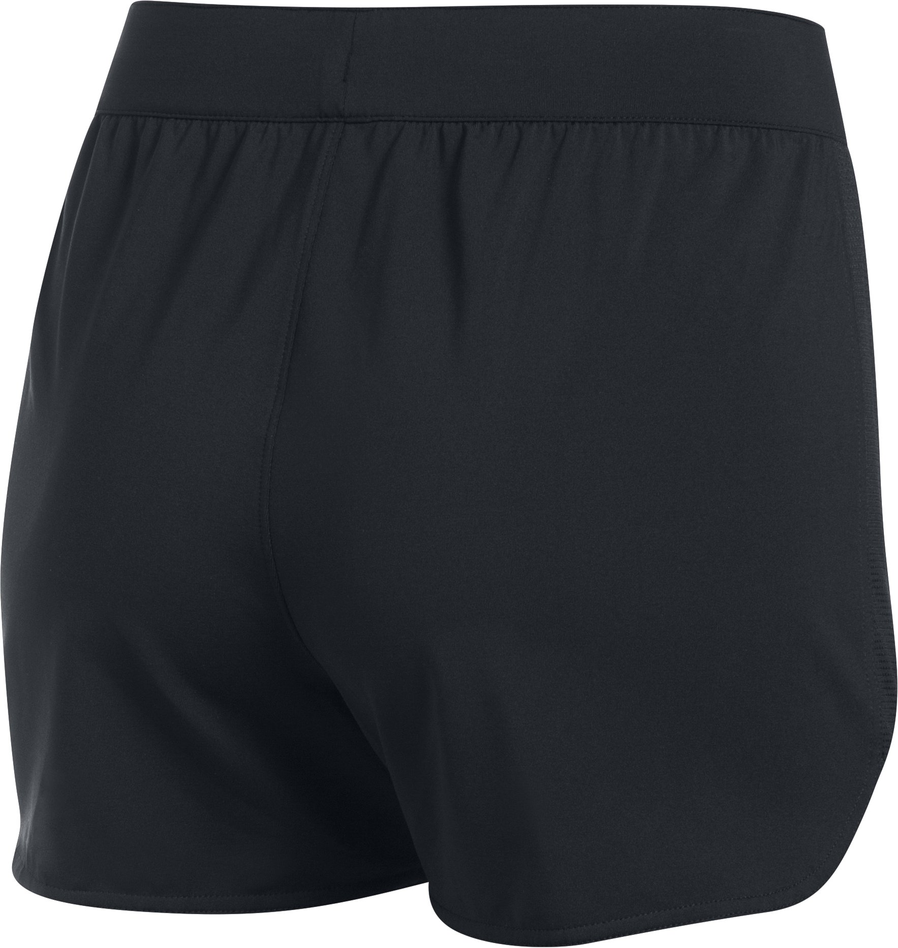 Women's UA Game Time Shorts, Black , undefined