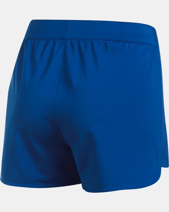 Women's UA Game Time Shorts, Blue, pdpMainDesktop image number 8