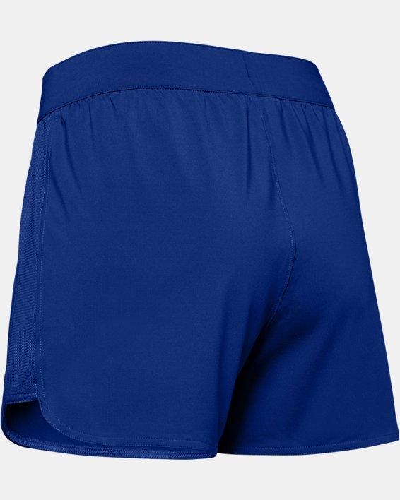 Women's UA Game Time Shorts, Blue, pdpMainDesktop image number 6