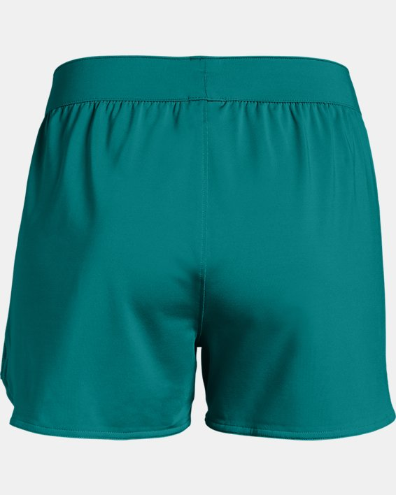 Women's UA Game Time Shorts, Green, pdpMainDesktop image number 5