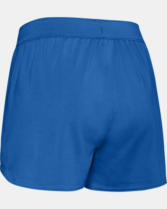 Women's UA Game Time Shorts, Blue, pdpMainDesktop image number 5