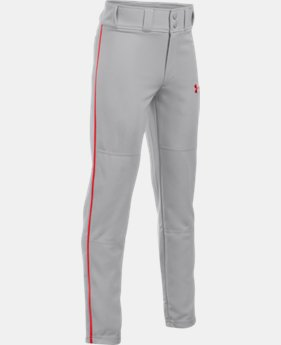 Boys' UA Clean Up Piped Baseball Pants  1 Color $29.99