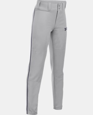 New Arrival Boys' UA Clean Up Piped Baseball Pants LIMITED TIME: FREE U.S. SHIPPING 4 Colors $24.99