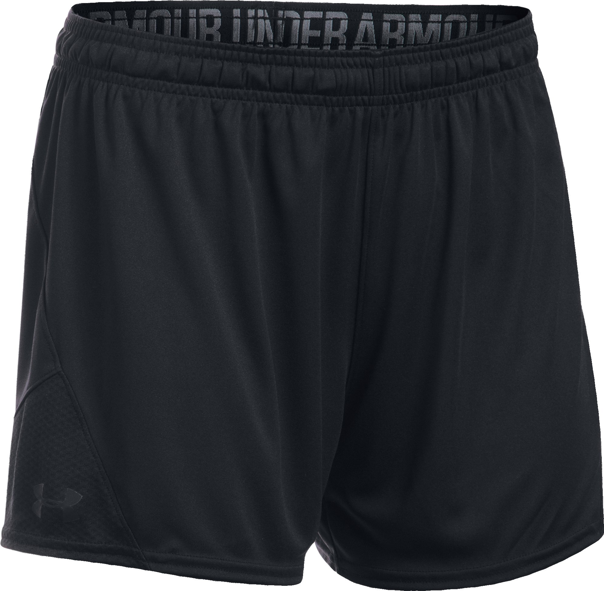 Women's UA Challenger II Knit Shorts, Black ,